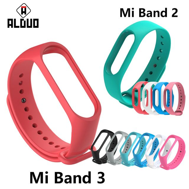 Strap For Xiaomi Mi Band 2 3 Smart Band Accessories For Xiaomi Miband 3 Colorful Wristband wrist strap Sport Goods For Mi Band 2