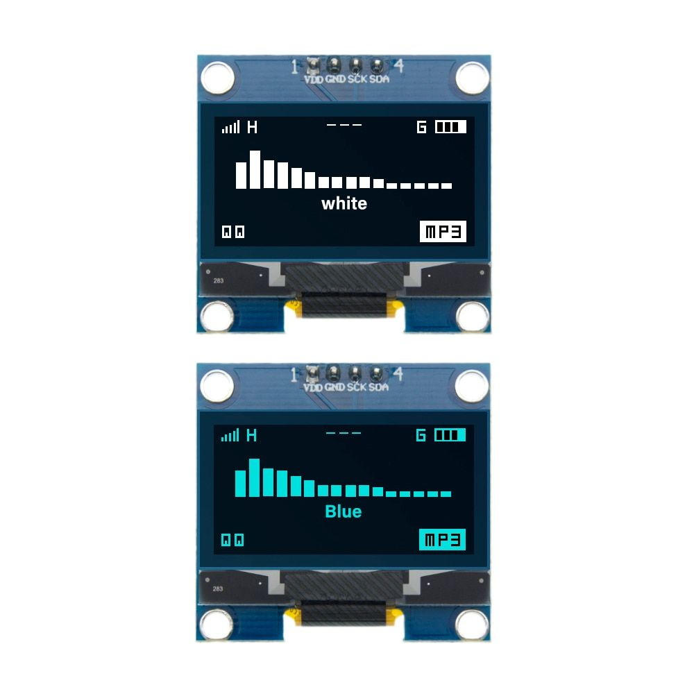 "1.3"" OLED module white/Blue color 128X64 1.3 inch OLED LCD LED Display Module 1.3"" IIC I2C Communicate for arduino"