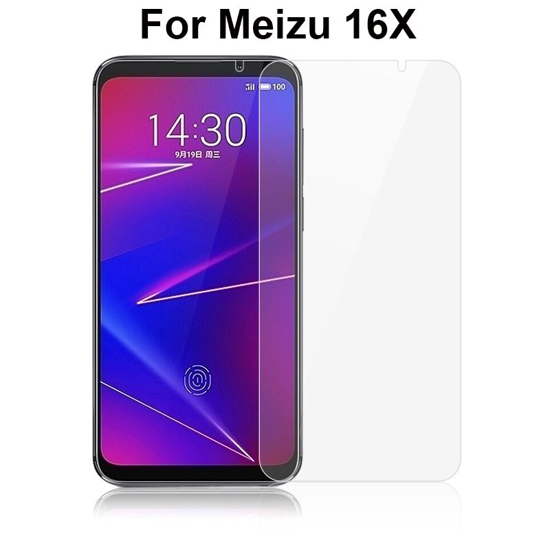 Tempered Glass For Meizu 16x M872Q Screen Protector 2.5D 9h Safety Protective Mobile Phone Film for Meizu 16x 16 X Glass Cover