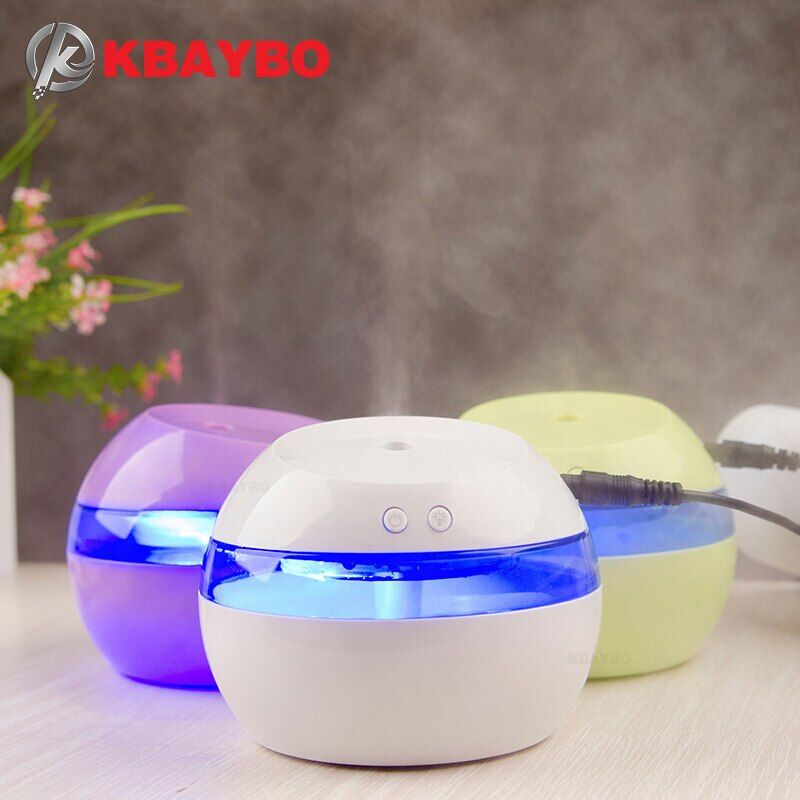 DC 5V Ultrasonic Air Aroma Humidifier Color LED Lights Electric Aromatherapy Essential Oil Aroma Diffuser Free Shipping