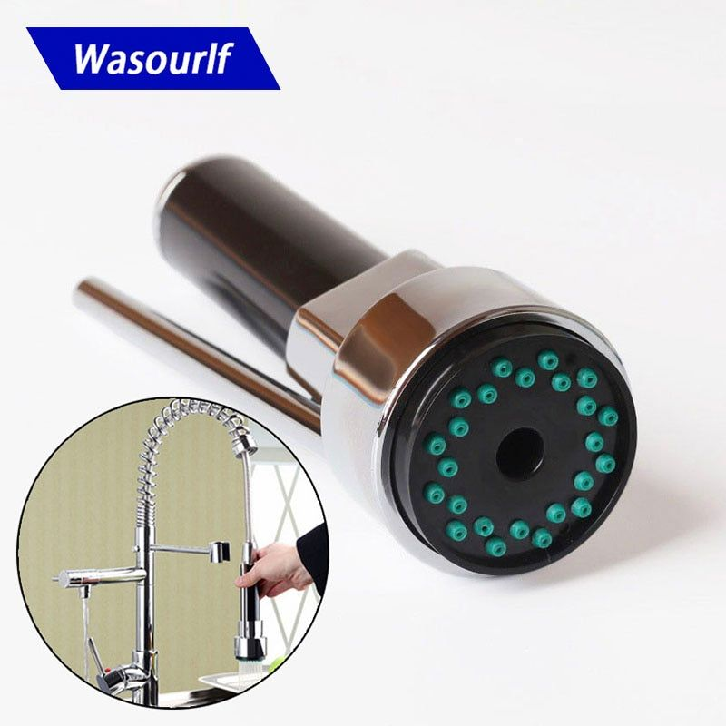 WASOURLF Faucet Head Sprayer Small Shower Head Chrome Tap Pull Out Replacement Kitchen Faucet Adapter Aerator Faucet Accessories