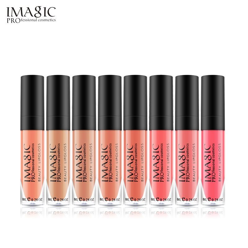 12pcs/set IMAGIC makeup matte Lipgloss Liquid matte lipstick Moisture waterproof lasting Lip gloss cosmetics