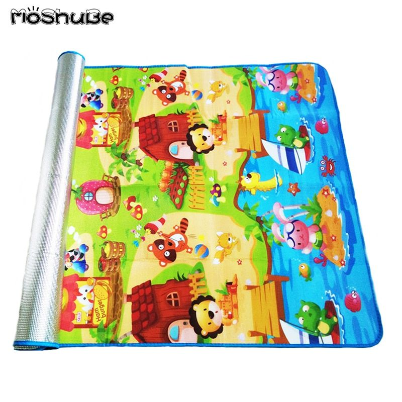 180*120*0.3cm Baby Crawling Play Puzzle Mat Children Carpet Toy Kid Game Activity Gym Developing Rug Outdoor Eva Foam Soft Floor