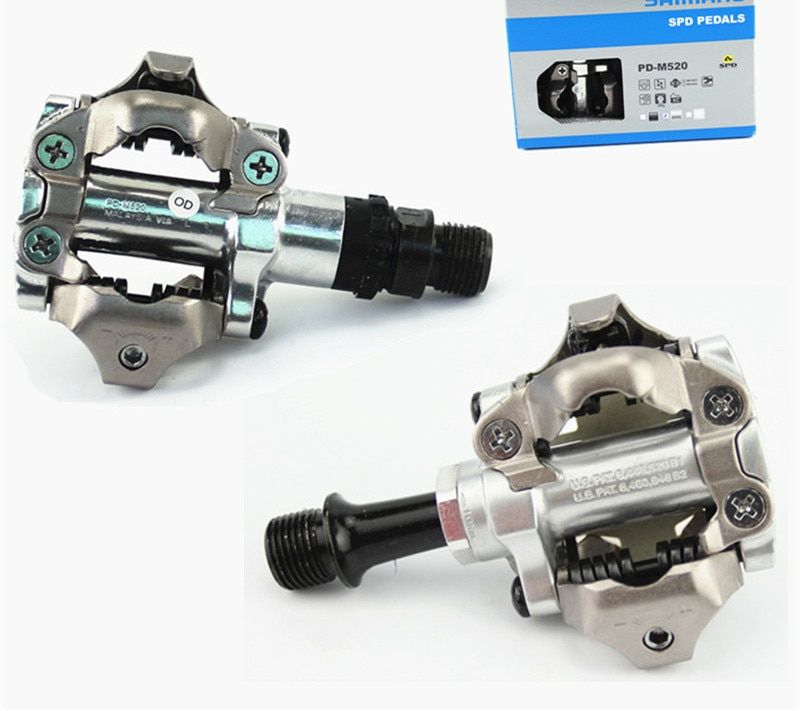 original PD-M520 PD-M540 MTB mountain bike bicycle pedals cycle self-locking lock pedal