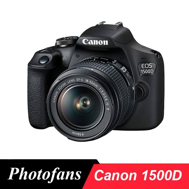 Canon 1500D / Rebel T7 DSLR Camera with 18-55mm Lens -24MP - Video -WiFi canon camera