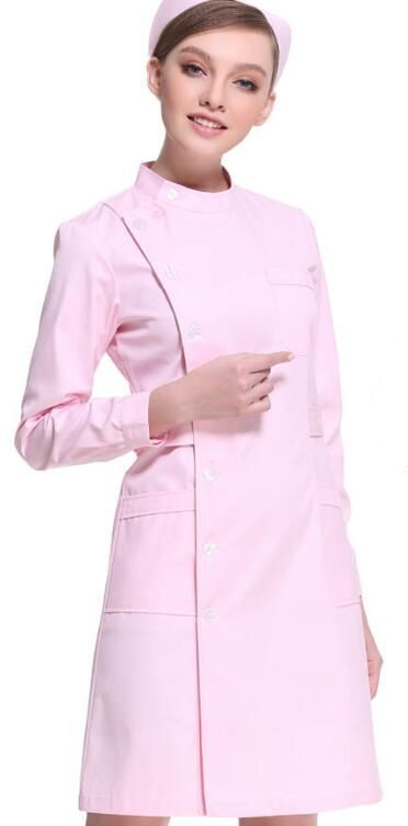 Summer Beauty salon uniforms Short sleeve Hospital nurse uniform White coat