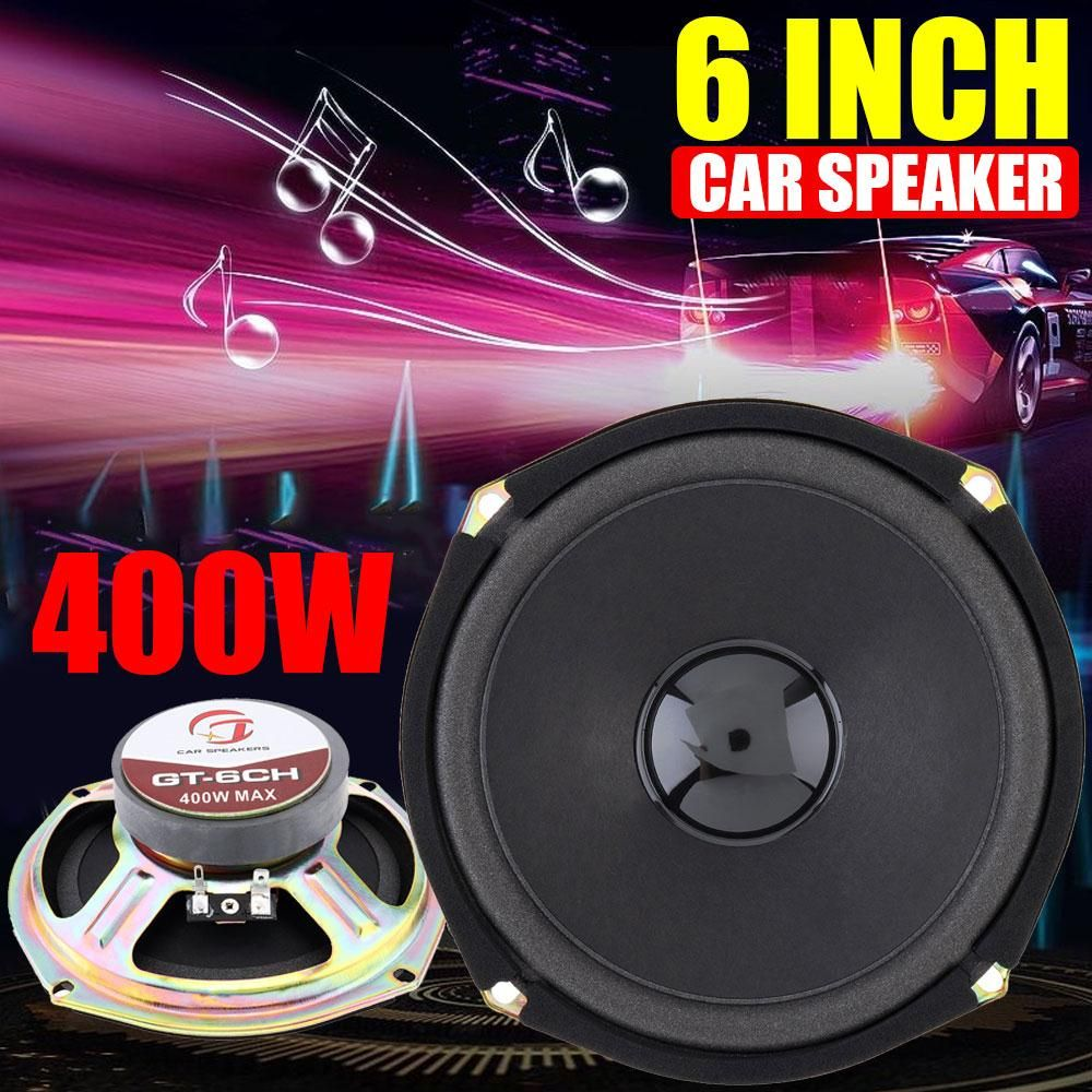 Auto Speakers Loudspeaker 2020 Coaxial Speaker Car Stereo 6 Inches 400W New for Music Horn HiFi