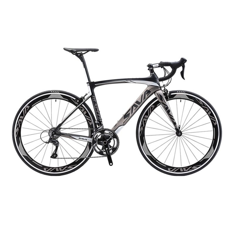 SAVA Carbon Road Bike 700C Road Bike Speed Full Carbon Bike Speed Bicycle with SHIMANO TIAGRA 20 Speed Bike Bicicleta carretera