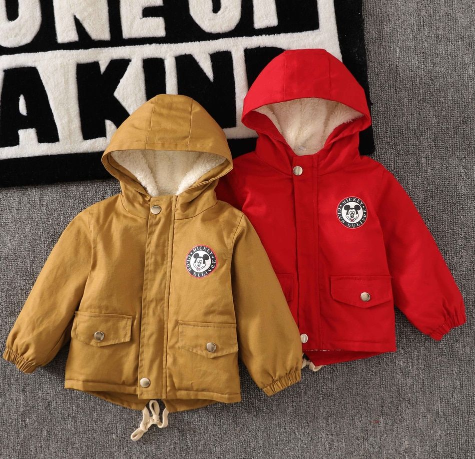 2020 New jacket coat spring autumn winter children's jacket print baby boy clothes children tops outwear kids clothes