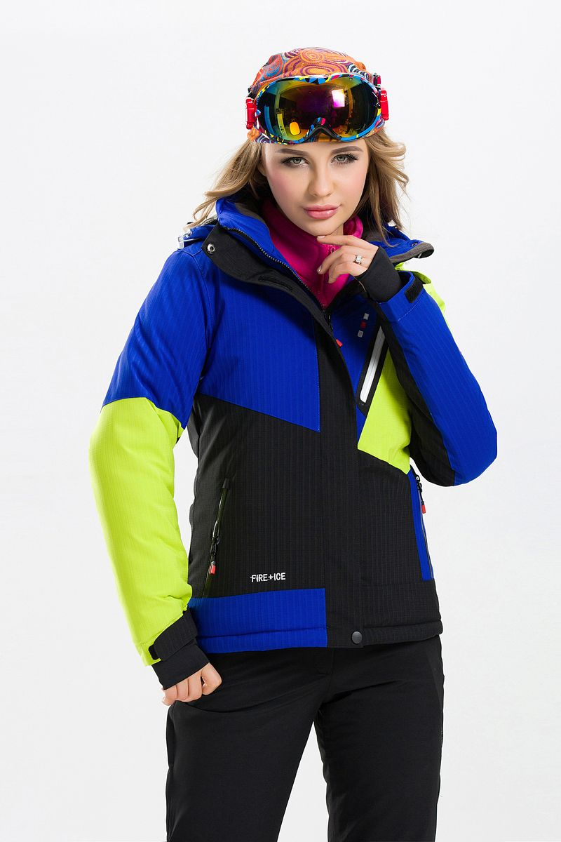 Female Women Ski Snowboard Jacket Windproof Waterproof Warm Clothing Female Thicken Thermal Breathable Skiing Camping Riding New