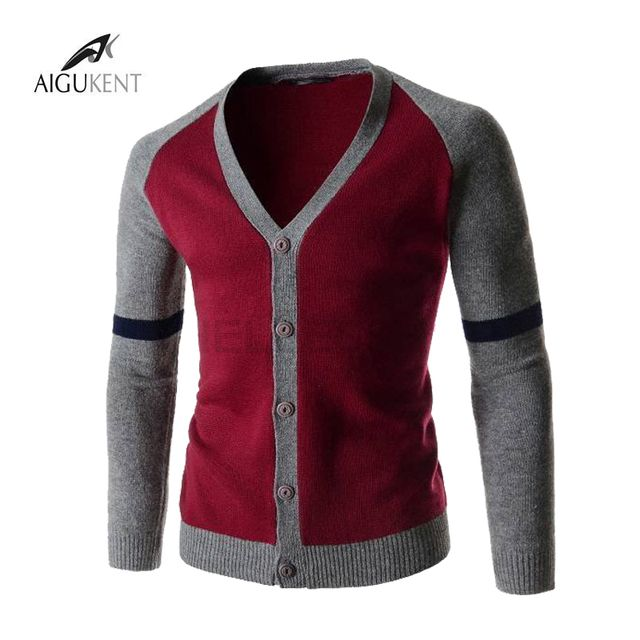 2016 Hot High Quality Men'S Sweater And Cardigans Fashion V-Neck Design Men'S High-Grade Knitted Sweater