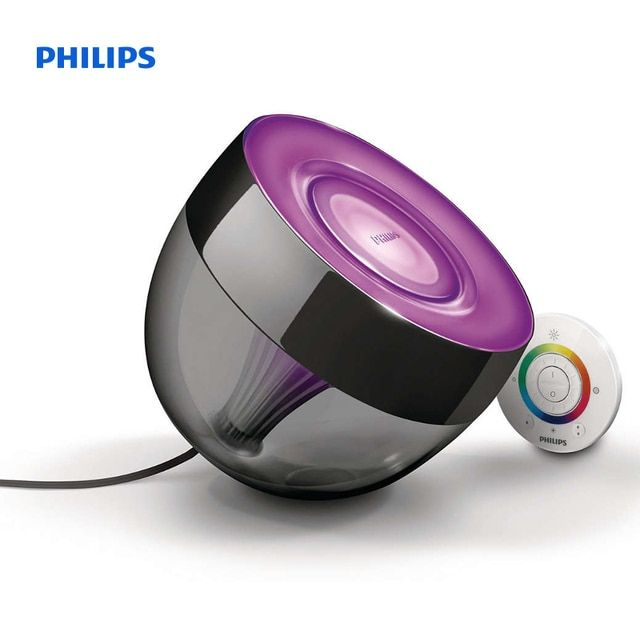 Philips LivingColors Table lamp Iris Black black LED 709993086