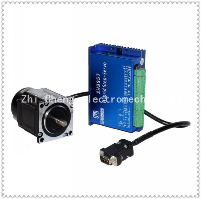 57J1880EC-1000+2HSS57 Closed-loop step combined packages 2.2N.m Nema 23 Hybird closed loop 2-phase stepper motor driver
