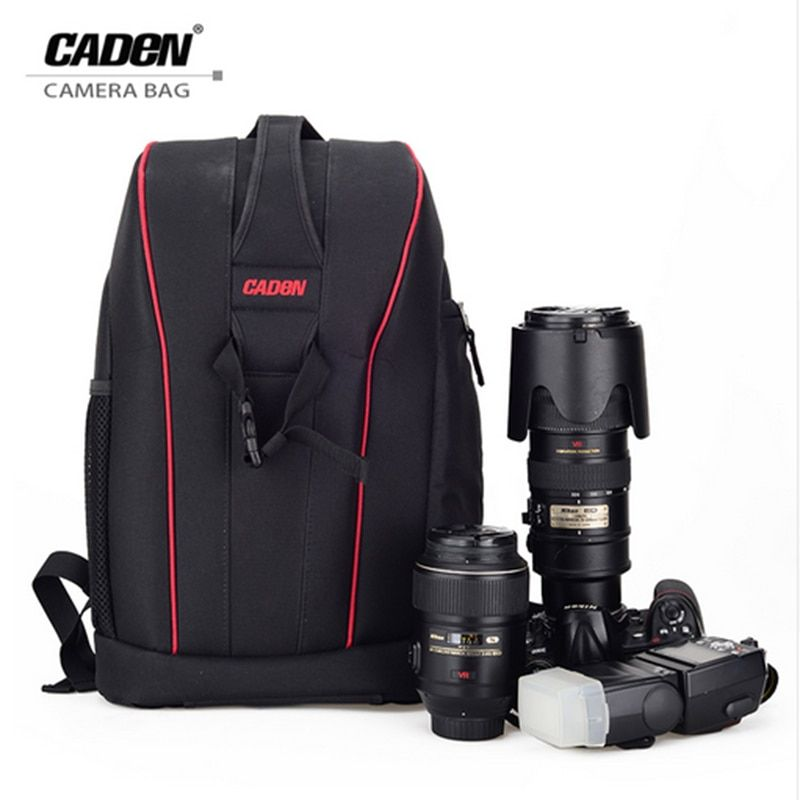 CADeN K6K7 DSLR Camera Backpack Video Digital Camera Bag Waterproof Travel Case For Dslr