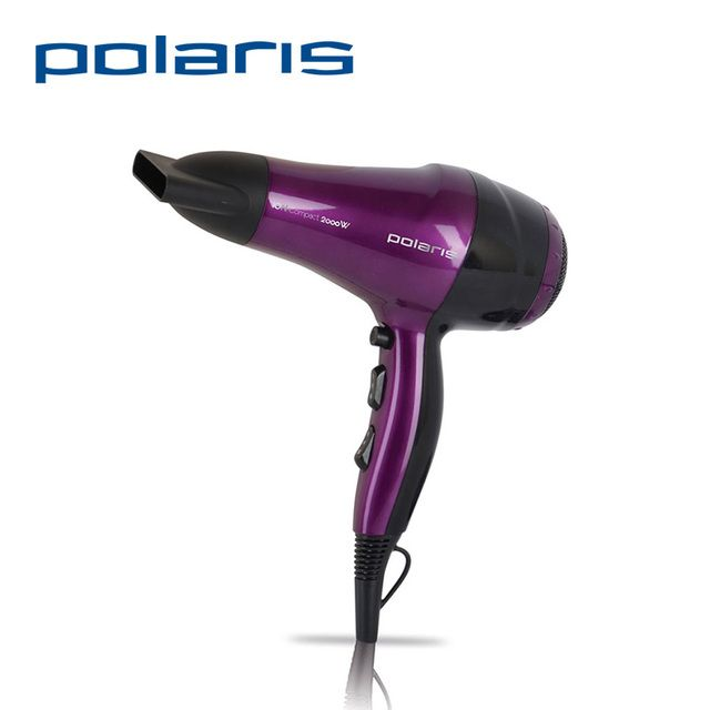Hair Dryer Polaris PHD 2077i 2000W  Electric Styling Tools Blow Hairdryer Ship from Russia