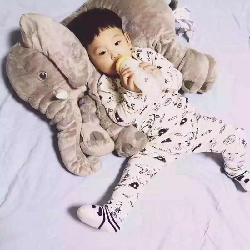 2016 Hot Baby Elephant Baby  Breastfeeding Pillow Pillows Waist Pillow Children Plush Dolls For Babies