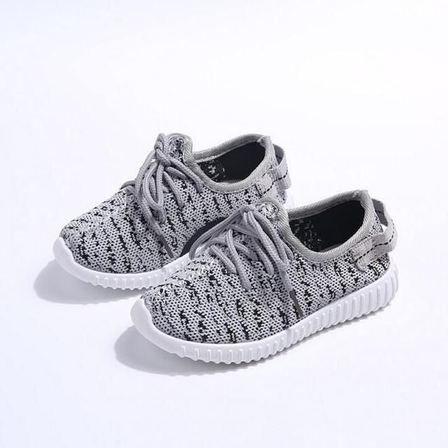 Free shipping children breathable slip-on shoes sneakers boy and girl children shoes kid's sneakers sports shoes