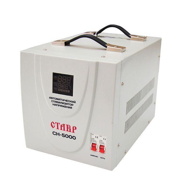 Voltage regulator Stavr SN-5000