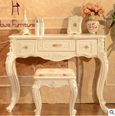 European Style Solid Wood Modern Multifunctional Furniture Writing Console Living Room Console  Table