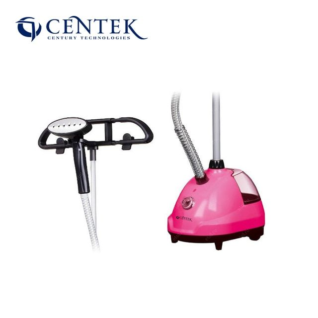 Centek CT-2376  Garment Steamer Power 2000w Steam Brush 4 Power Mode Stainless Steel Sole Ship From Russia