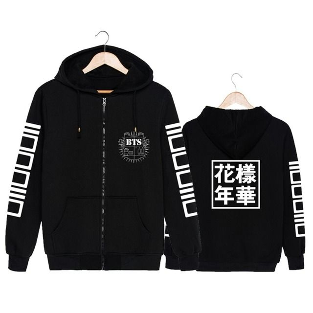 Youpop Wholesale KPOP Fan BTS Bangtan Boys Bulletproof Boy Scouts Young Forever Album Album Cotton Sweatshirt Hooded PT018