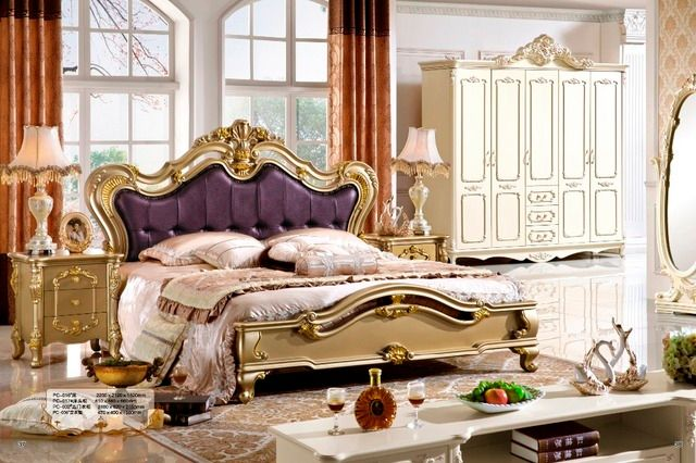 classic bedroom furniture,single bed,super single bed 0407-009
