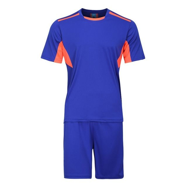 2016 17 New paintless football soccer jerseys Sets men boys training tracksuits jersey kits costume uniforms Maillot de Foot