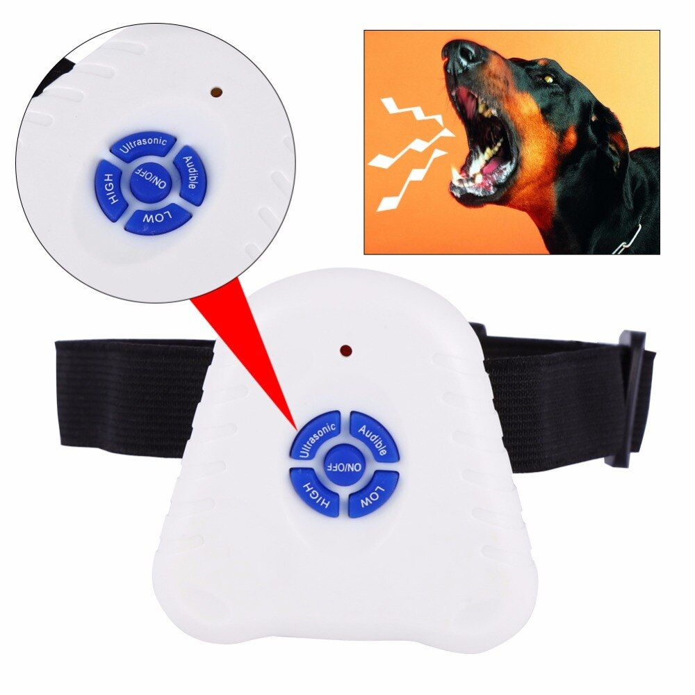 Ultrasonic Dog Bark Stop Anti Barking Control Collar Pet Anti Dog Bark Training Collars Dog Bark Control Pet Accessories