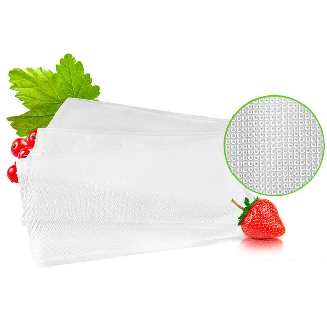 1pc Roll Vacuum Bags For foodHeat Sealer Food Fresh Saver Bag Rolls Food Storage Bags Saran Wrapper Flim Kitchen Packaging Tool