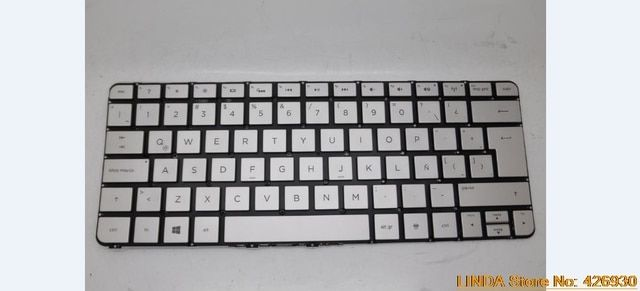 Laptop Keyboard For HP SPECTRE XT PRO 13-3000 Silver without Frame With backlight 743897-161 743897-001 MP-13J76LAJ886