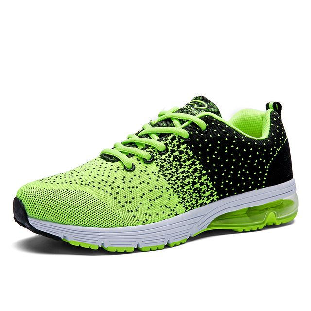 2016 New Arrival Outdoor Sport Brand Running Shoes Flyknit Soft Light Breathable Sneakers Lace Up Air Mesh Shoes Size (39-44)