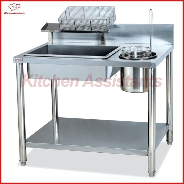 GW1000 Manual Breading Table of kitchen equipment