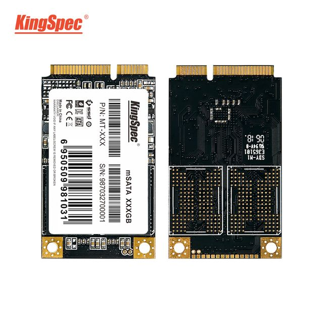 KingSpec mSATA SSD 64GB 120gb 240gb 512GB mSATA Hard Drive SSD For Laptop 3.5 mm Internal Solid State Drive for 6430u, ST-LST01