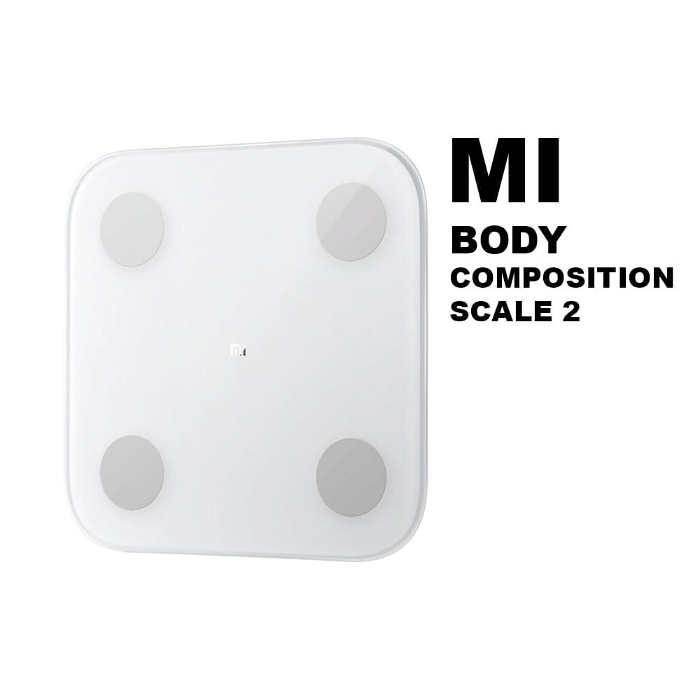 Mi Body Composition Scale 2 Bathroom Scales Xiaomi Mi Body Composition Scale 2 home floor impact resistant fat body data analysis fitness loose weight health weighting bluetooth XMTZC05HM 21907