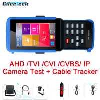 IPC-9310S H.265 4K IP CCTV Tester Monitor AHD CVI TVI CVBS analógica Cámara probador con cable tracker/WIFI /rápido ONVIF/12V3A POE