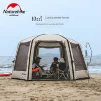 Naturerandonnée-tente de Camping plage Air   Nouvelle tente de Camping extérieur, grandes tentes gonflables, canopée étanche, pôle d'air Bower