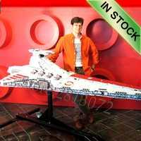 05077 l'ucs Venator classe Star Destroyer ST04 6125 pièces Star Movie Wars modèle blocs de construction compatibles avec les jouets