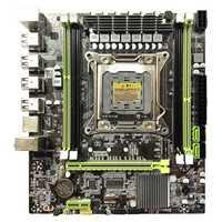 HOT-X79 carte mère Lga 2011 4xDdr3 double canal 64Gb mémoire Sata 3.0 Pci-E 8Usb pour Core de bureau I7 Xeon E5