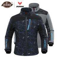 DUHAN veste de Moto hommes veste de Moto chauffée chauffage électrique Moto Motocross course veste d'équitation pour l'automne hiver