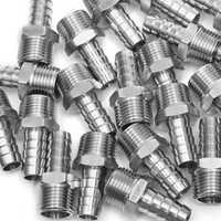 Producción de barras de LTWFITTING de acero inoxidable 316 acoplador de ajuste de púa/conector de manguera de 1/2