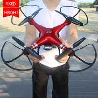 Drone quadrirotor RC avec caméra 1080P Wifi FPV hélicoptère RC 20-25min temps de vol Drone professionnel 720p quadrirotor Drone