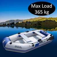 3 personas 260cm bote de remo inflable PVC Kayak bote Hovercraft de pesca canoa a la deriva velero surfear navegar barco B