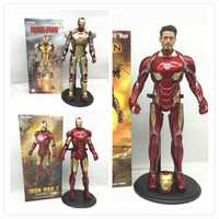 12 pulgadas 30cm IRON MAN MK42 Mark 50 1/6 escala coleccionable ironman 2 figura decoración estatua modelo regalo muñeca