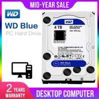 WD Original Blue 4TB Hdd Sata 3,5 ''unidad de disco duro interno Disque Dur escritorio HDD para PC WD40EZRZ Western Digital
