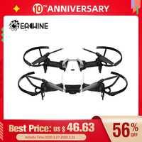 Prix de dédouanement Eachine E511 WIFI FPV 1080P / 720P HD caméra Mode sans tête 16 minutes temps de vol pliable RC Drone quadrirotor