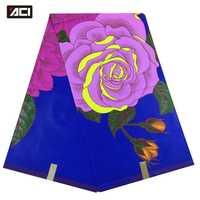ACI nuevo Ankara cera Africana tela de impresión Material de algodón 6 yardas Tissus Patchwork africano Java tela de impresión Nigeria cera para vestido