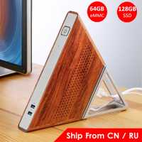 Ángulo agudo AA-B4 DIY Mini PC Intel Apollo Lake N3450 Intel HD Graphics 500 Windows 10 8GB RAM 64GB eMMC 128GB SSD Wifi TV BOX