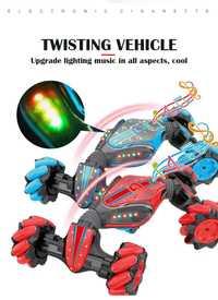 Creativo gesto de inducción torsión reloj de vehículo de Control remoto coche juguetes regalo para niño