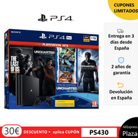 Videoconsola PS4 Pro 1Tb Negro/ PS4 Pro 1TB+The Last of Us+Uncharted Collection+Uncharted 4+El Legado Perdido