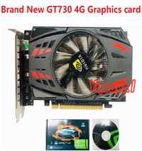 Yqwsyxl flambant neuf NVIDIA GeForce GT730 4GB DDR5 128Bit PCI Express jeu carte graphique carte graphique livraison gratuite